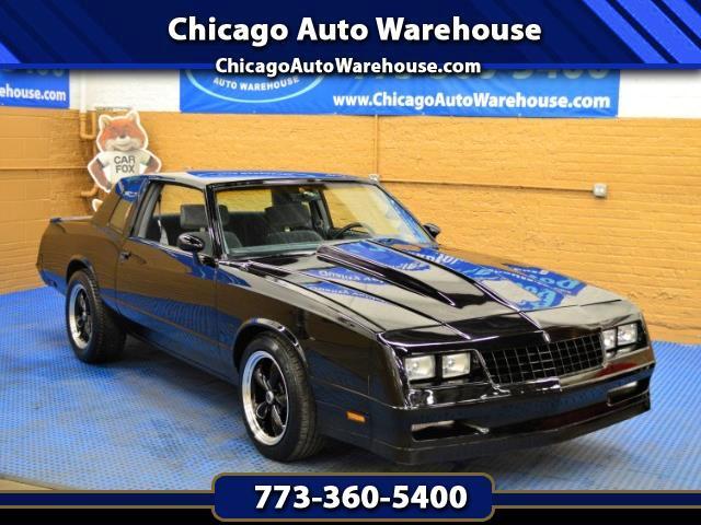 1985 Chevrolet Monte Carlo 2dr Cpe SS