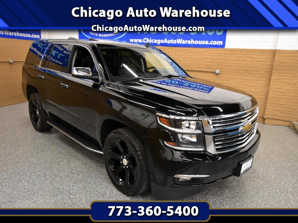 Used 2015 Chevrolet Tahoe For Sale In Chicago Il 60618 Auto Chevy Chrome Roof Rack
