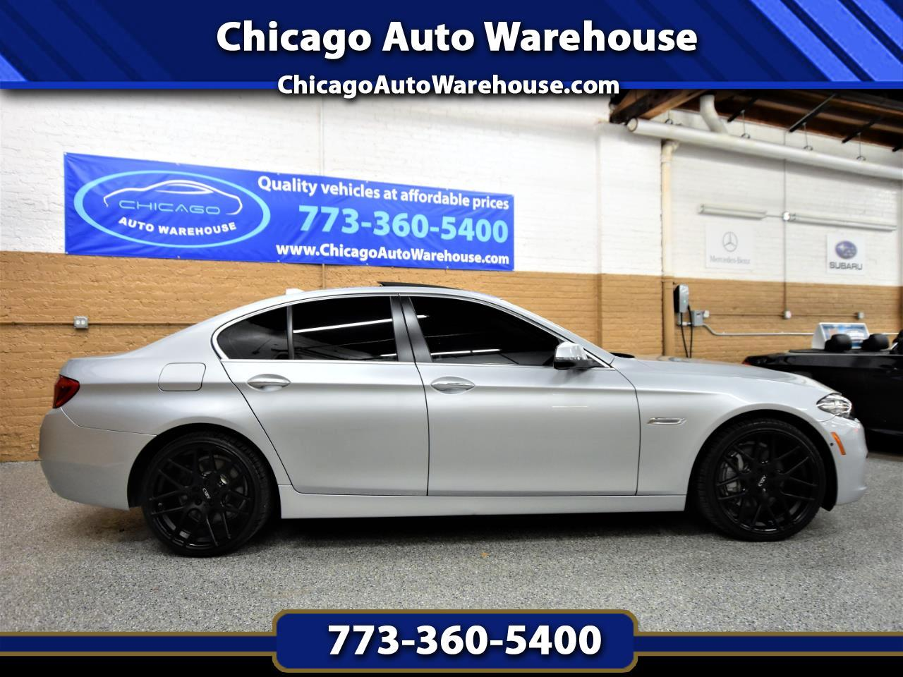2014 BMW 5 Series 4dr Sdn 550i xDrive AWD