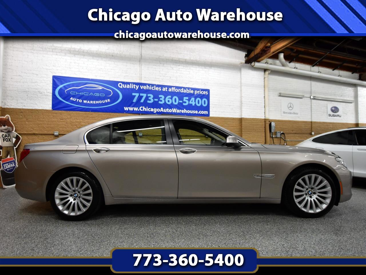 BMW 7 Series 4dr Sdn 750Li xDrive AWD 2012