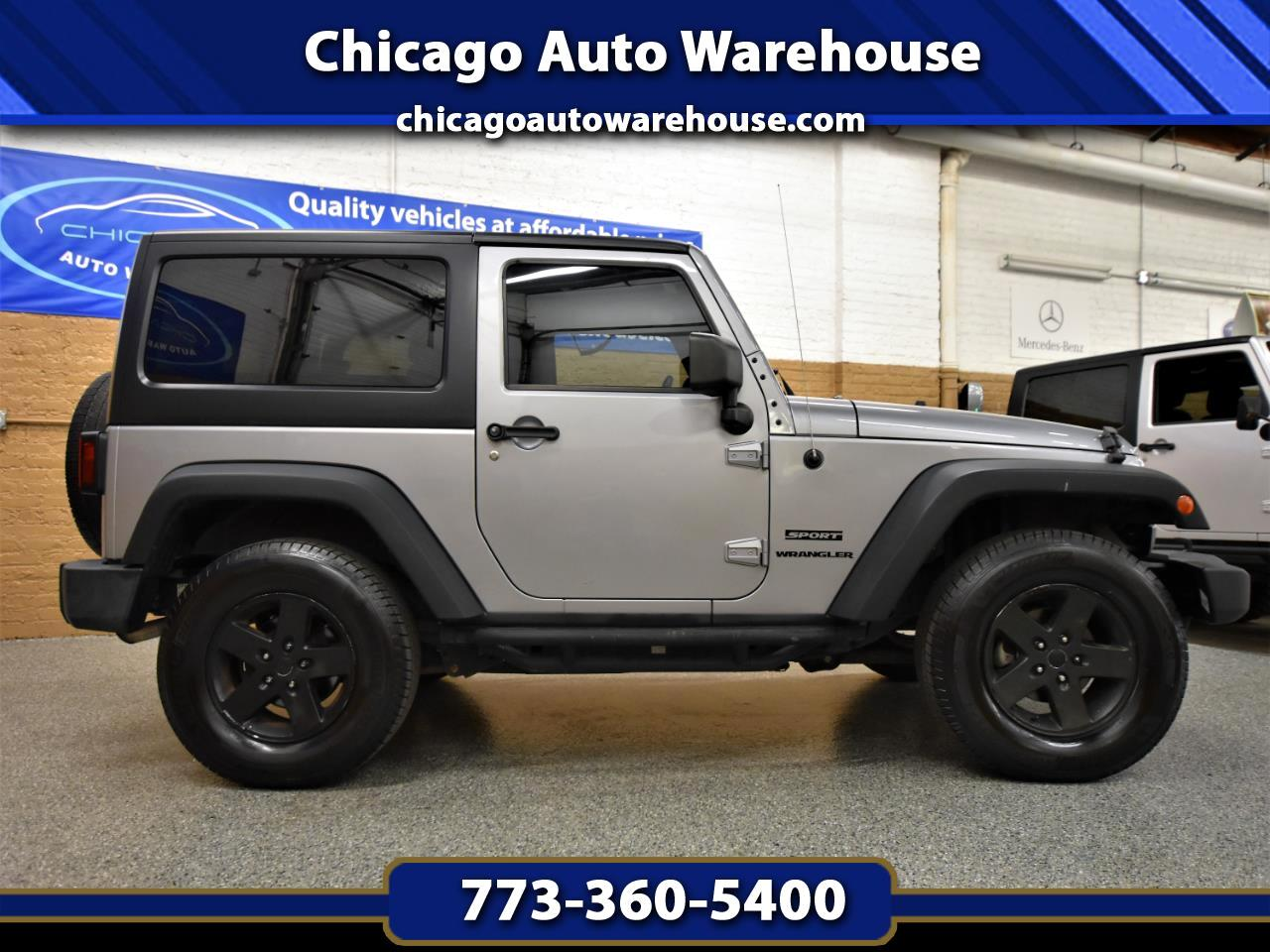 Jeep Wrangler 4WD 2dr Sport 2013