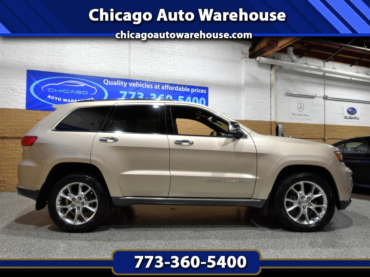 Jeep Grand Cherokee 4WD 4dr Summit 2014