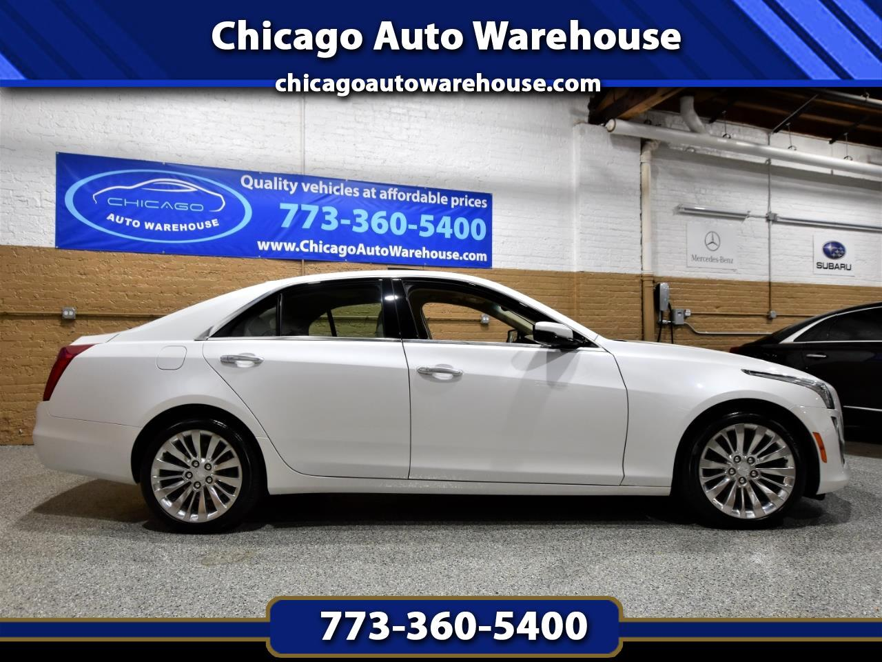 Cadillac CTS Sedan 4dr Sdn 3.6L Luxury AWD 2015