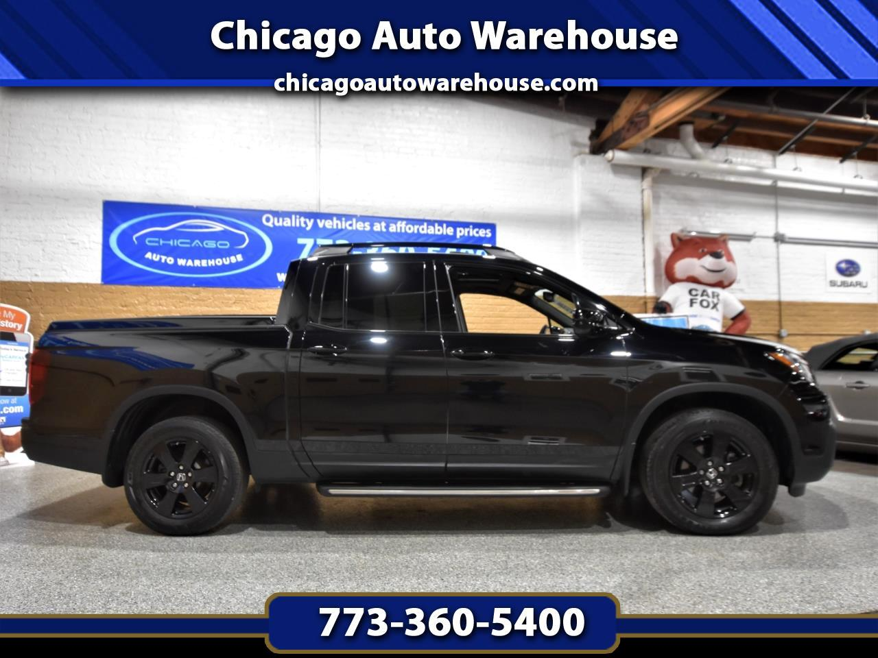 Honda Ridgeline Black Edition 4x4 Crew Cab 5.3' Bed 2017