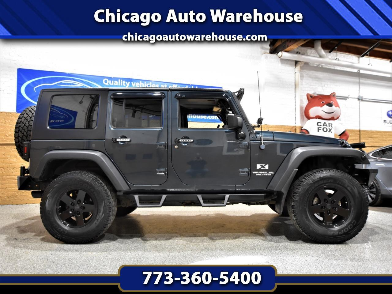 Jeep Wrangler 4WD 4dr Unlimited X 2008