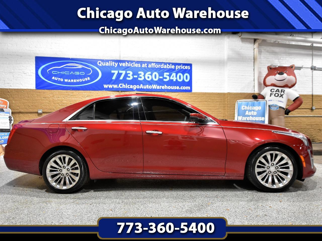Cadillac CTS Sedan 4dr Sdn 2.0L Turbo Performance AWD 2015