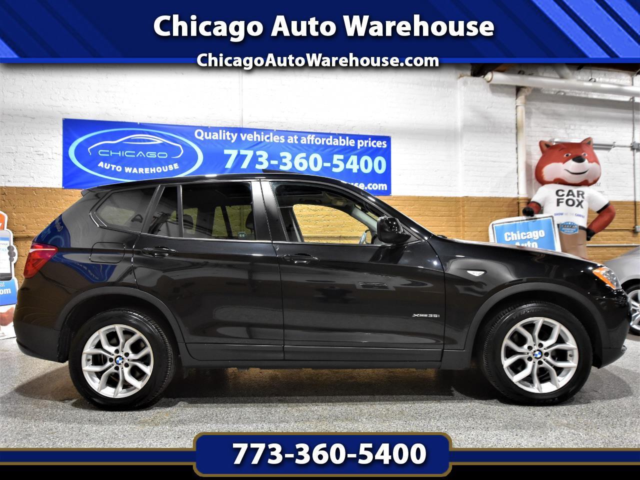 BMW X3 AWD 4dr 35i 2011