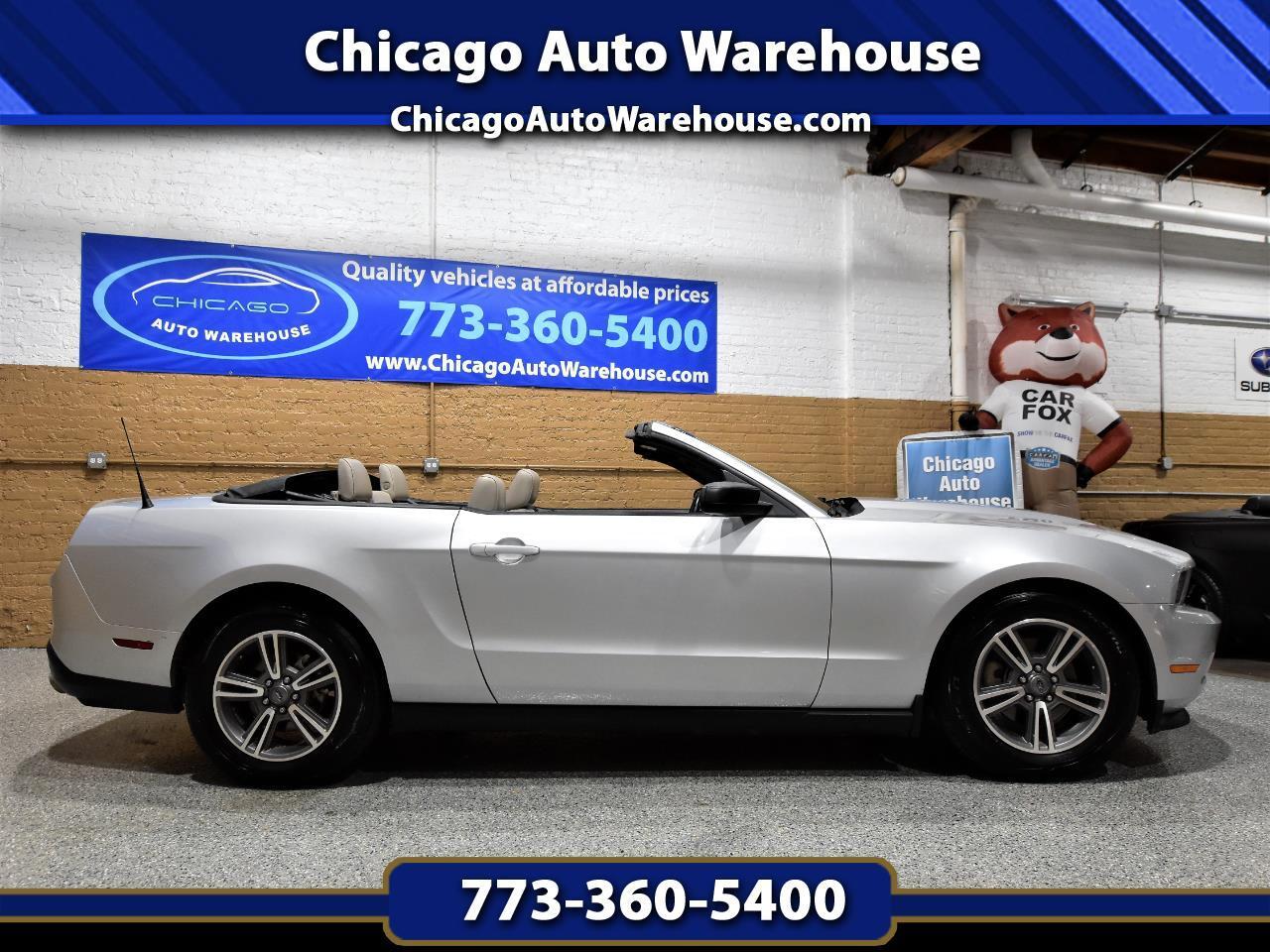 Ford Mustang 2dr Conv V6 Premium 2012