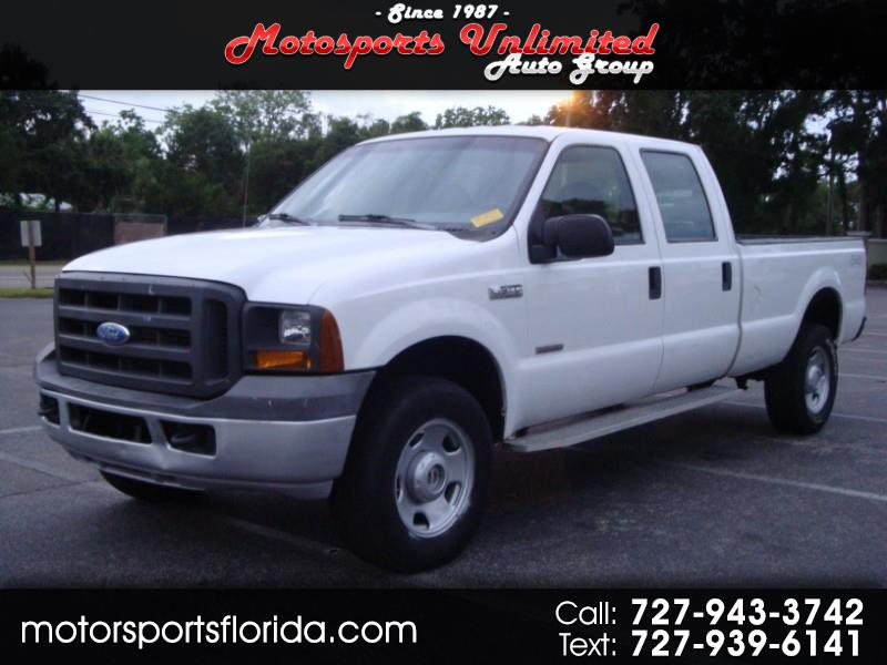 2005 Ford F-350 SD XL Crew Cab Long Bed 4WD