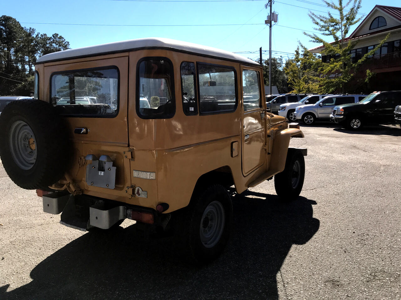 1981 Toyota Land Cruiser 4dr Wagon 4-Spd