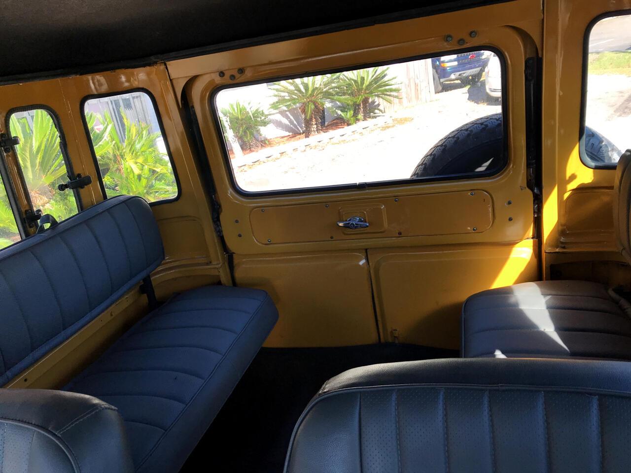 1981 Toyota Land Cruiser 4dr Wagon 4-Spd