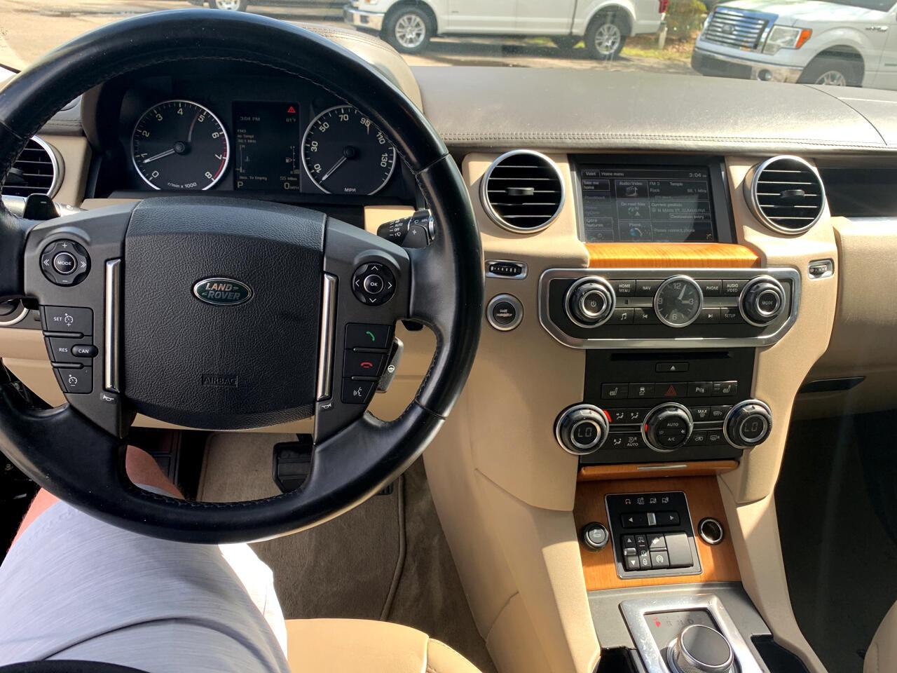 2014 Land Rover LR4 4WD 4dr LUX