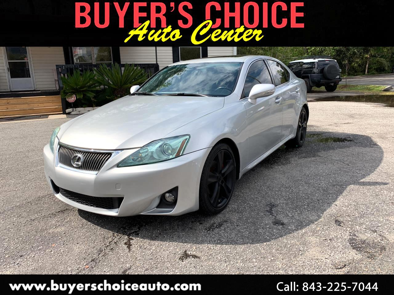 2012 Lexus IS 250 4dr Sport Sdn Man RWD