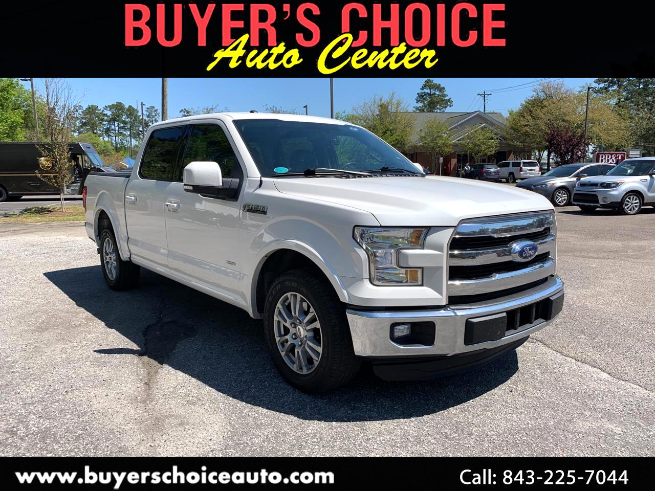 "2015 Ford F-150 2WD SuperCrew 157"" Lariat"
