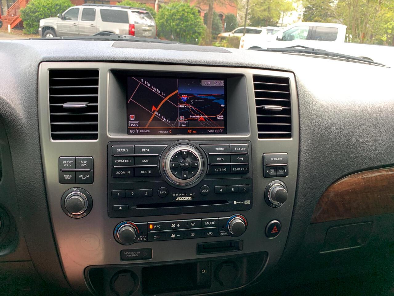 2012 Nissan Armada 2WD 4dr Platinum