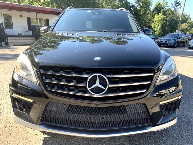 Mercedes-Benz M-Class 4MATIC 4dr ML 63 AMG 2013