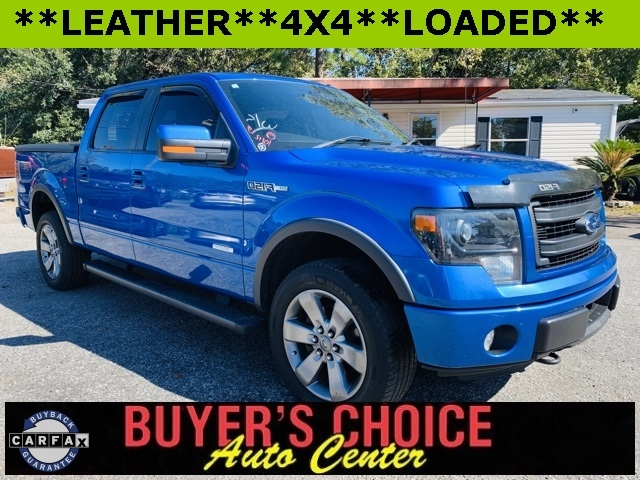"Ford F-150 4WD SuperCrew 145"" FX4 2013"