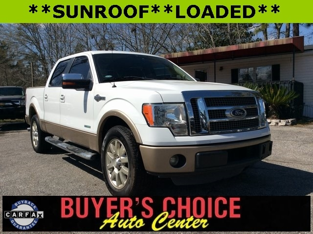 """Ford F-150 2WD SuperCrew 145"""" King Ranch 2012"""