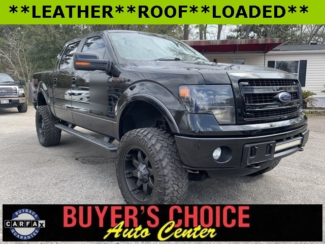 "Ford F-150 4WD SuperCrew 150"" FX4 2013"