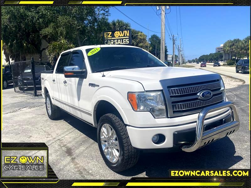 Ford F-150 Platinum SuperCrew 6.5-ft. Bed 4WD 2011