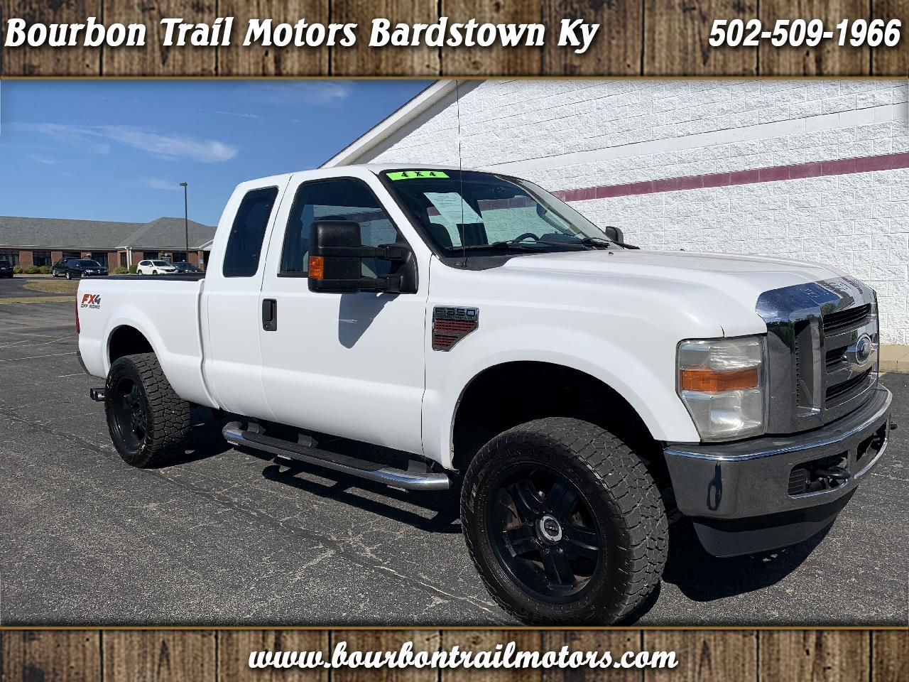 "Ford Super Duty F-350 SRW 4WD SuperCab 158"" FX4 2008"
