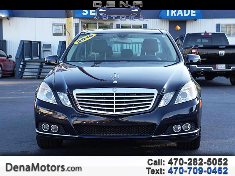 Mercedes-Benz E-Class E350 Luxury Sedan 2010