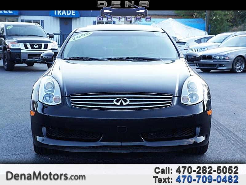 2006 Infiniti G35 Coupe with Leather and 6MT
