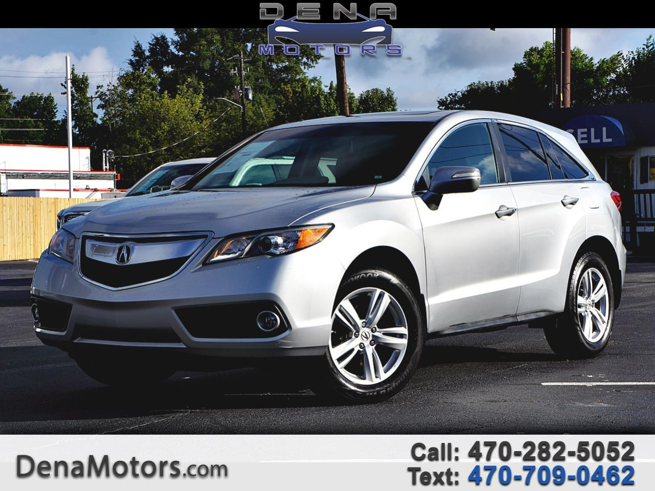 Acura RDX 6-Spd AT w/ Technology Package 2014