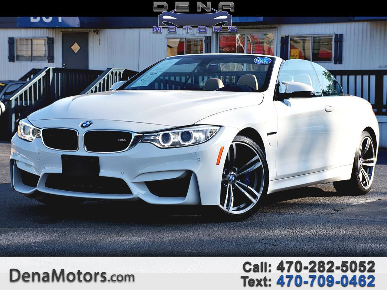 BMW M4 Convertible 2016
