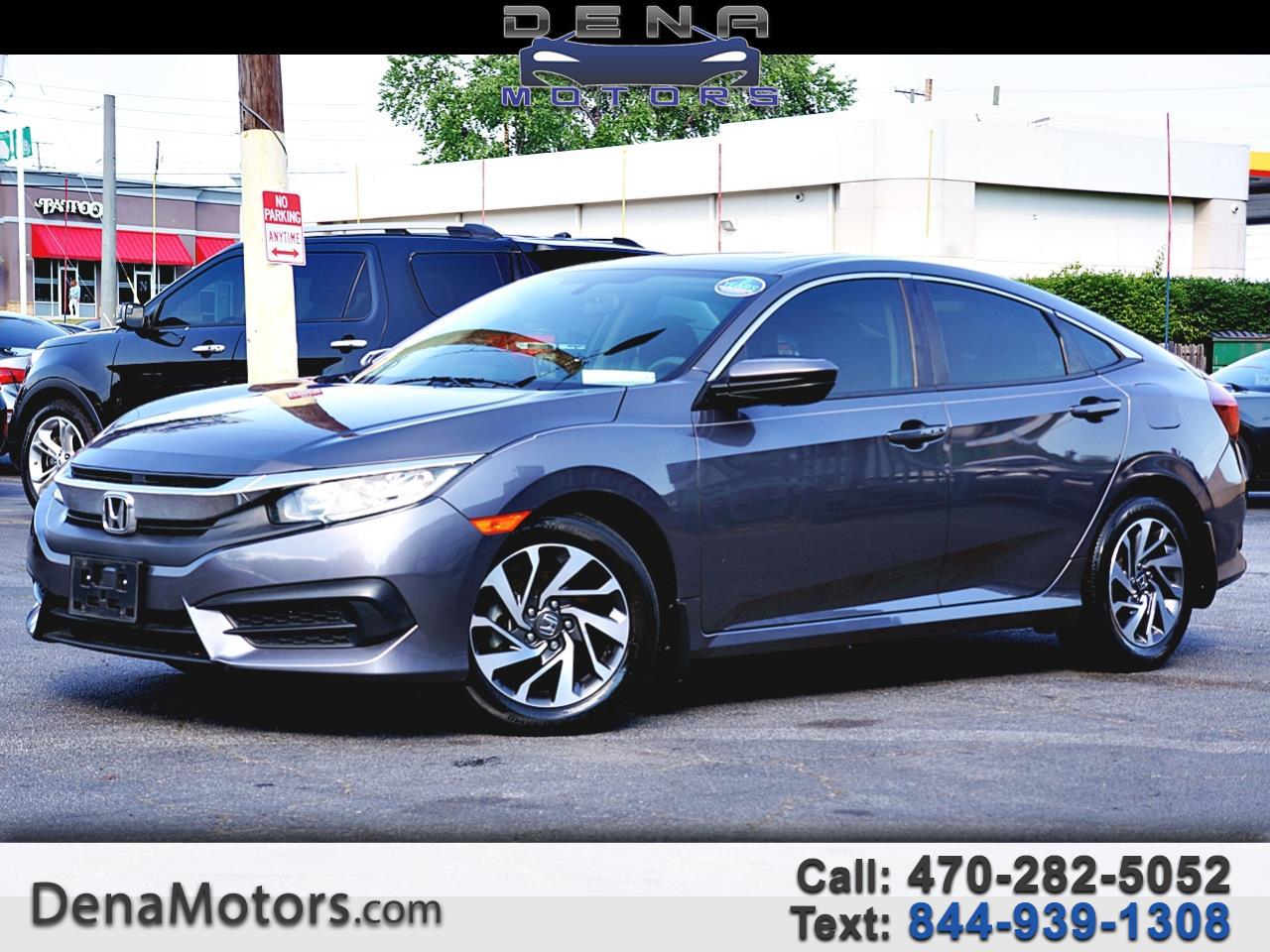 Honda Civic EX Sedan CVT 2017