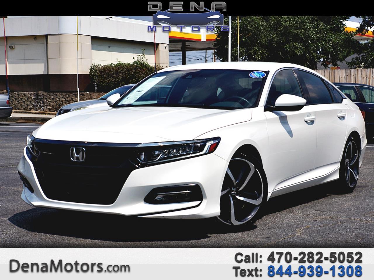 Honda Accord Sport CVT 2019