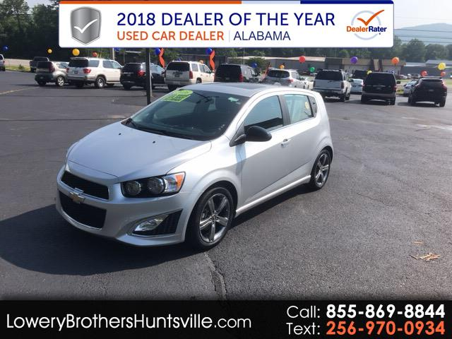 2016 Chevrolet Sonic RS Auto 5-Door