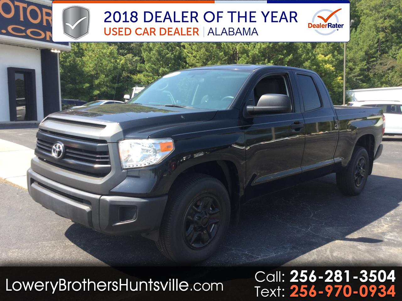 2015 Toyota Tundra 2WD Truck Dbl 4.6L V8 6-Spd AT  (Natl)