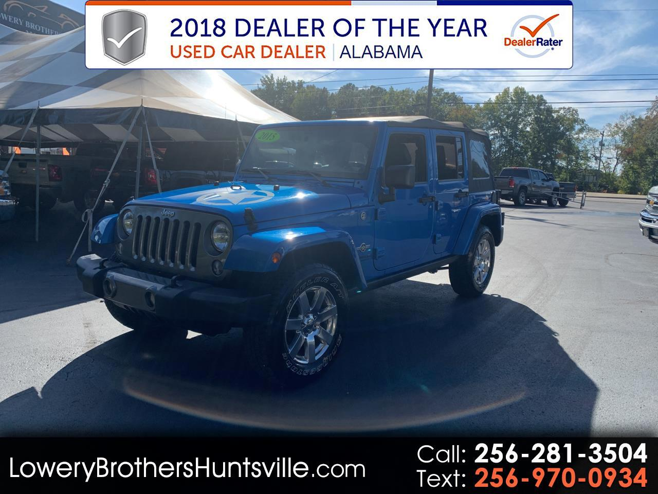 Jeep Wrangler Unlimited 4WD 4dr Freedom Edition *Ltd Avail* 2015