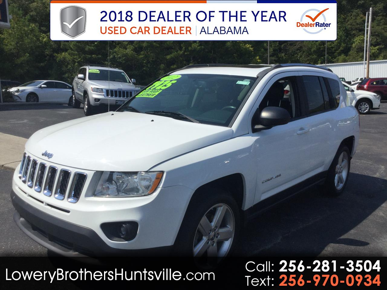 2012 Jeep Compass 4WD 4dr Limited
