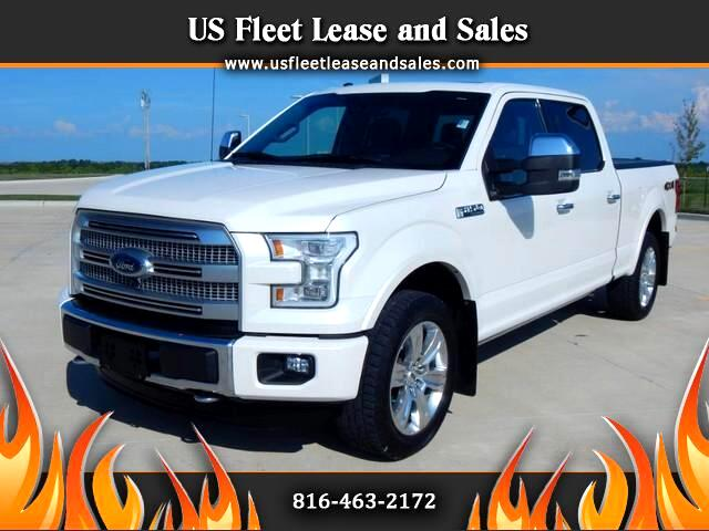 2015 Ford 150 Platinum SuperCrew 6.5-ft. Bed 4WD