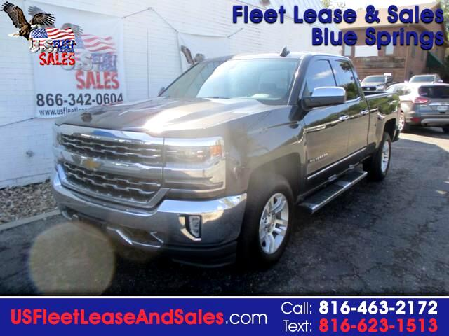 Chevrolet Silverado 1500 LTZ Double Cab Short Box 4WD 2016