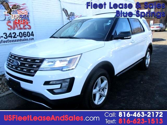 Ford Explorer 2017 Lease >> Used 2017 Ford Explorer Xlt 4wd For Sale In Blue Springs Mo