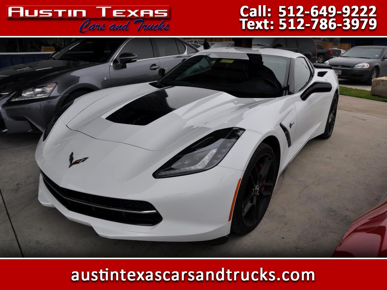 2015 Chevrolet Corvette 2dr Stingray Z51 Cpe w/1LT