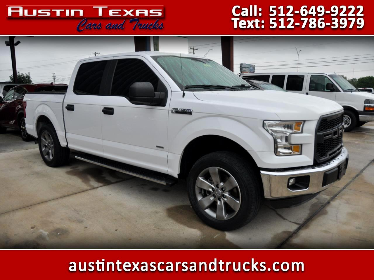 "2016 Ford F-150 2WD SuperCrew 139"" XL"