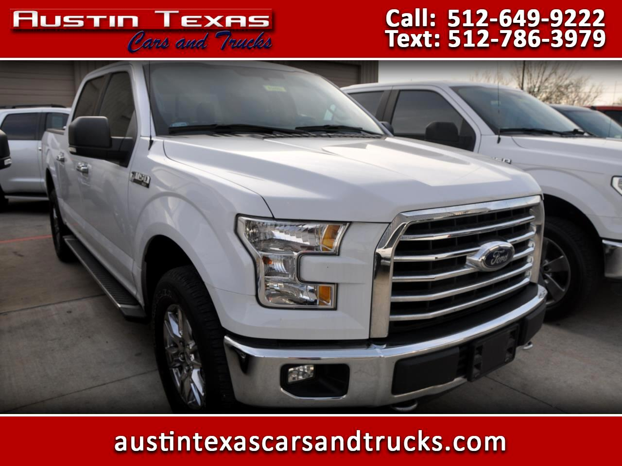 """Ford F-150 4WD SuperCrew 157"""" FX4 2016"""