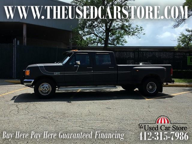 1989 Ford F-350 Crew Cab XLT Lariat Dually
