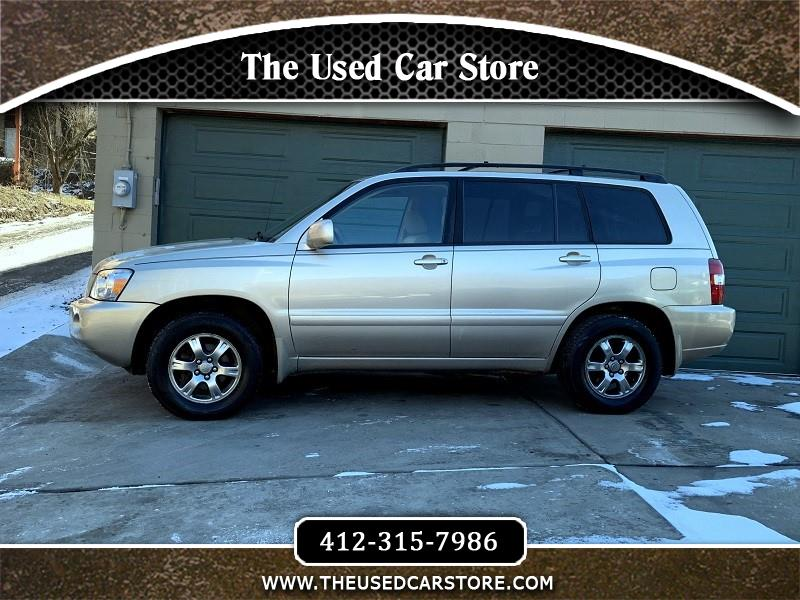 2005 Toyota Highlander Limited V6 4WD