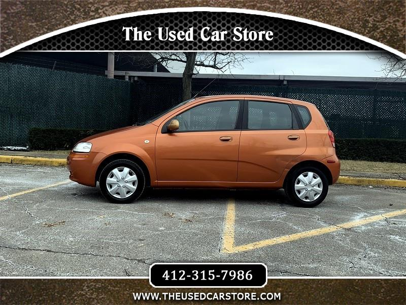 2005 Chevrolet Aveo Special Value 5-Door