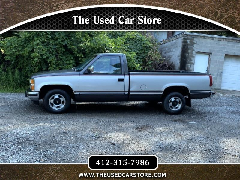 1991 Chevrolet C/K 1500 Reg. Cab W/T 8-ft. bed