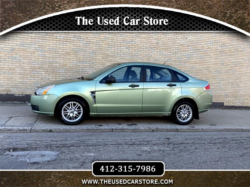 2008 Ford Focus 4dr Sedan SE
