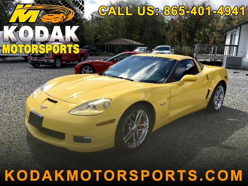 Chevrolet Corvette 2LZ Z06 Coupe Manual 2008