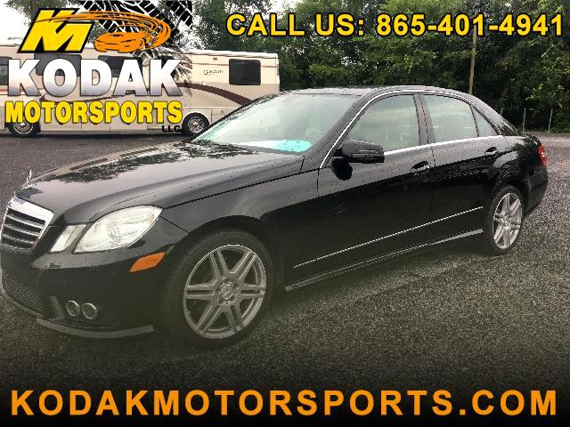 2010 Mercedes-Benz E-Class E350 Sport Sedan