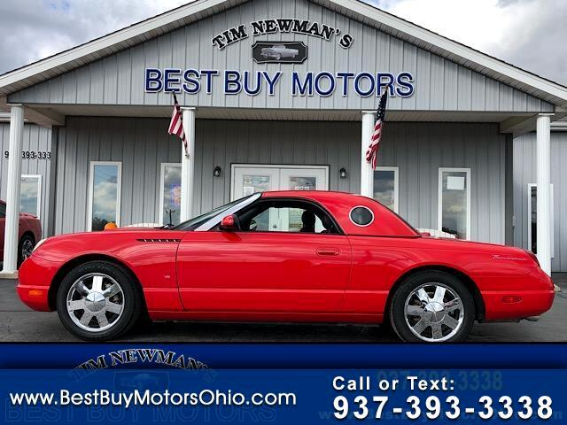 2003 Ford Thunderbird 2dr Convertible Deluxe