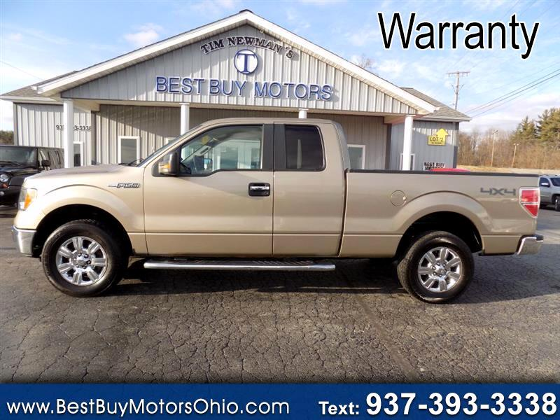 "Ford F-150 4WD SuperCab 145"" XLT 2012"
